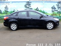 Focus III 2.0i 155 for RENT