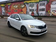 new Octavia 2018 rent in Minsk