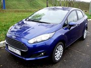 new Fiesta in rent