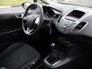 new Ford Fiesta in rent