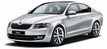 Skoda Octavia in rent a car Minsk